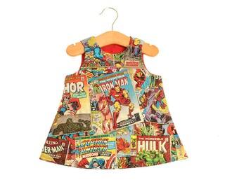 Avengers Comic Children's Dress