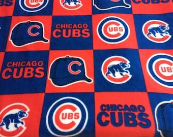 MLB Chicago Cubs  LARGE Fleece Blanket
