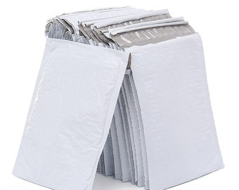 White Poly Bubble Mailers, Bubble Envelopes, Padded Mailers, Poly Mailers, Poly Bags, Mailers, Bubble Envelope, White Bubble, Padded