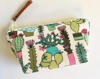 Essential Oil Bag / Essential Oil Pouch, Oil Storage Bag, Essential Oil Travel Bag / Cactus Oil Bag
