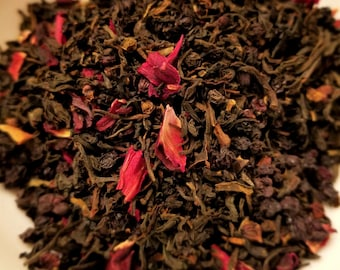 Blair Witch - Witch tea, Herbal Tea, Black Tea, Lapsang Souchong, Smokey Tea, Elderberry, Hibiscus, Horror Movie, Theme Tea