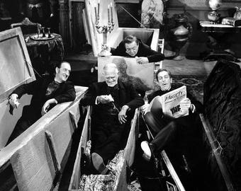 Boris Karloff Peter Lorre Vincent Price Basil Rathbone The Comedy of Terrors , 1963