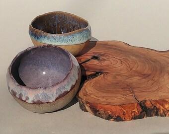 Blue Ceramic Bowl, Organic Bowls, Rustic Bowls, Soup Bowls, Stoneware Serving Bowls, Salad Bowls, Handmade Pottery, Gift For Mom