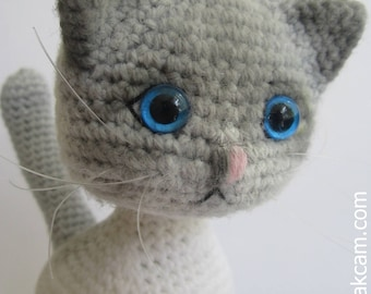 Amigurumi gegliedert Katze
