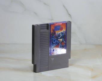Vintage Nintendo Game, Mega Man 3, Capcom, Nintendo, 1990, Vintage NES, Action, 21st Century, Cyborg, Dr Wily, World Domination, NES Game