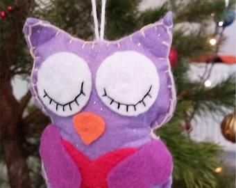 OWL Christmas decor