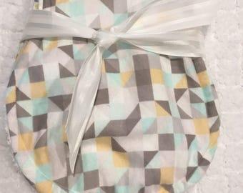 Burp Cloths, Flannel Burp Cloths, Cloths, Burp Rags, Baby Shower, Set of two gender neutral burp cloths. Baby shower, baby gift.
