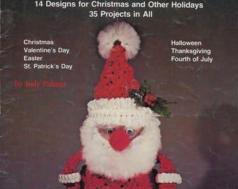 Judy Palmer's Holiday Knots Macrame Christmas Patterns Instructions Book