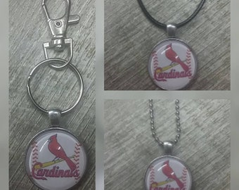 St Louis Cardinals key chain or necklace