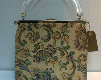 Lovely Vintage Tapestry purse Retro