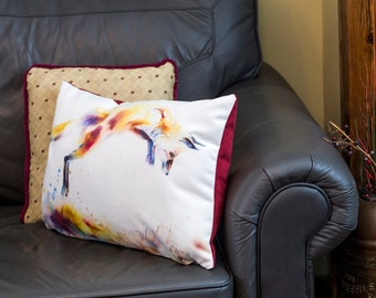 Leaping Fox Cushion Cover