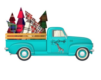 Old Fashioned Truck Print