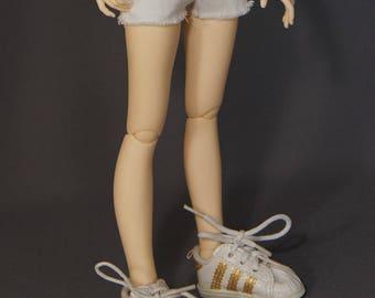 Minifee White Shorts
