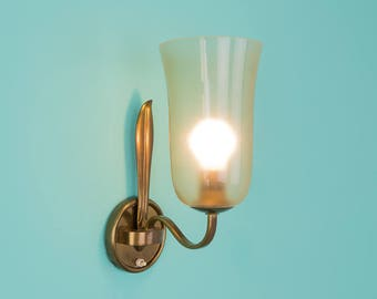 1940 wall Lamp, 60s, light bulb, vintage (509016)