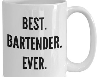 Best bartender ever mug