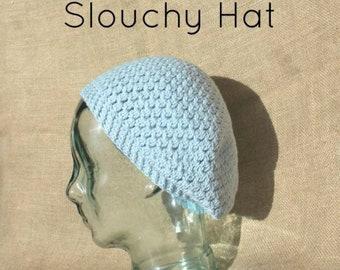 Alice Slouch Hat  | Slouch Hat Crochet Pattern | Crochet Slouchy Beanie Pattern | Slouchy Crochet Hat Pattern - Adult Sizes | PDF Pattern