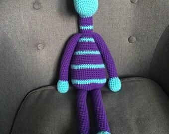 Stuffed / Plush GIRAFFE, Crochet/Knit