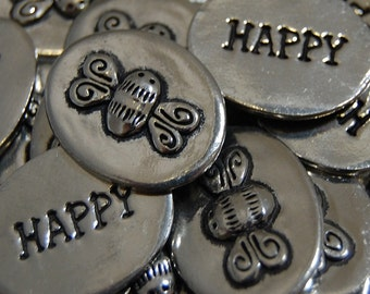 Bee Happy Inspiration Coins - SET OF 10