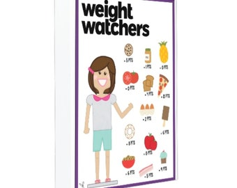 Weight Watcher Binder Cover