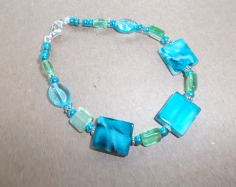 SeaBreeze Mist-Aqua Turquoise Bracelet