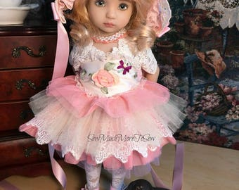 Effner Little Darling Doll Ensemble TuTu Cute!   [No Doll]