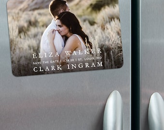 Only You - Photo Save the Date Magnets + Envelopes