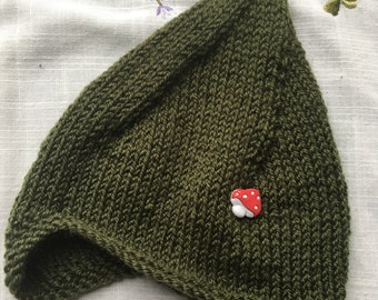Woodland pixie hat