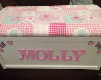 XL toy box.  Personalised toy box. Toy storage. Wooden toy box. Toy box. Storage box. Kids toy box.