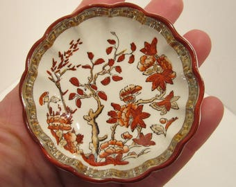 Copeland Spode Butter Pat Dish - India Tree OLD STAMP