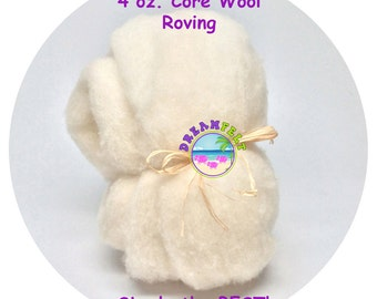 Core Wool Roving  for Needle Felting 4 oz. from DREAM FELT simply the BEST!