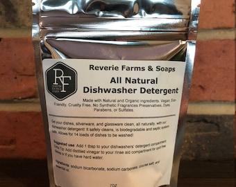 All Natural Dishwasher Detergent