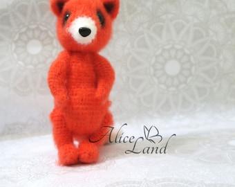 Crochet toy fox Stuffed fox Crochet fox Amigurumi animal Nursery decor Amigurumi fox Knitted fox Plush fox Babyshower gift Fox toy Fox Plush