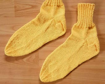 Hand-knitted socks - size 40/41