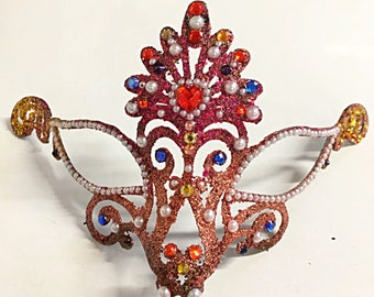 Gala mask, Mardi Gras mask, role playing mask, hand made mask, festival mask, halloween mask, fairy mask, role playing mask, costume mask