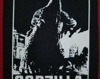 Godzilla Cloth Punk Patch