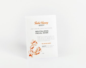 Revitalizing Face Mask, Face Mask, Revitalizing Skin Face Mask, Clay Face Mask