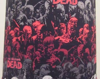 Walking Dead Zombie Fabric Lamp Shade