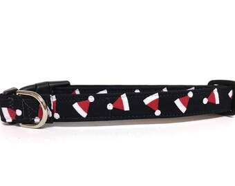Naked Dog Collar- The Santa Hats