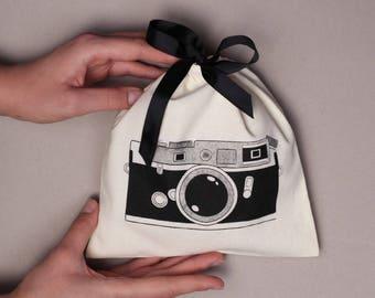 Camera case | camera bag | camera cotton bag | christmas gift | Nikon camera bag | Canon camera case |  womens camera bag | DSLR camera bag