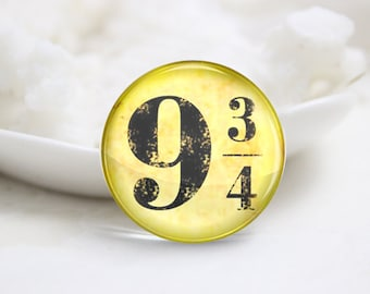 10mm 12mm 14mm 16mm 18mm 20mm 25mm 30mm Harry Potter Series-Handmade Round Photo glass Cabochons (P2810)