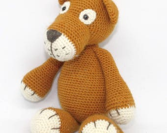 Crochet Lioness Liza