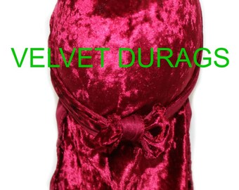 Red Velvet Durags