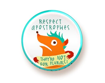 Respect Apostrophes - button