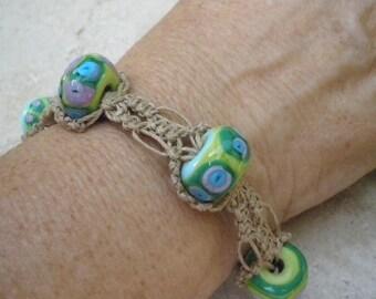Friendship Bracelet, Macrame Bracelet, Beaded Macrame Bracelet, Woven Beaded Bracelet, Bohemian Macrame Bracelet, Micro Macrame Bracelet