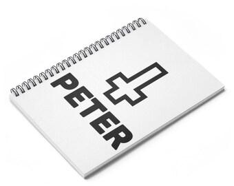 Saint Peter   John 21:19   Christian Gifts   Gifts For Christian Writers   Christian Notebook   Christian Journal   Notebook   Journal