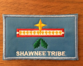 Patch Shawnee Tribe - Native American - Oklahoma - USA - Native American Churh