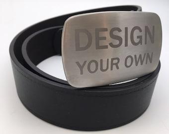 Custom belt buckle Stainless steel belt buckle replaceable buckle gift for him bespoke belt buckle silver buckle metal belt buckle