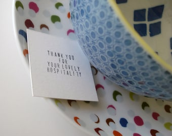 Little Thank You Notes - Set of 25