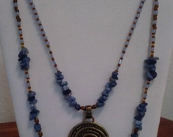 Unique Hippy Chic Necklace