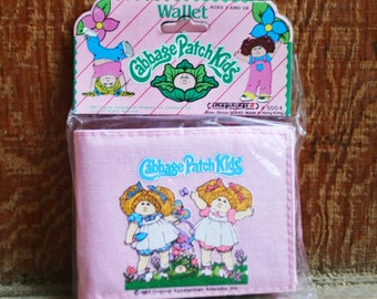 Vintage 1983 Cabbage Patch Kids Wallet - New Old Stock